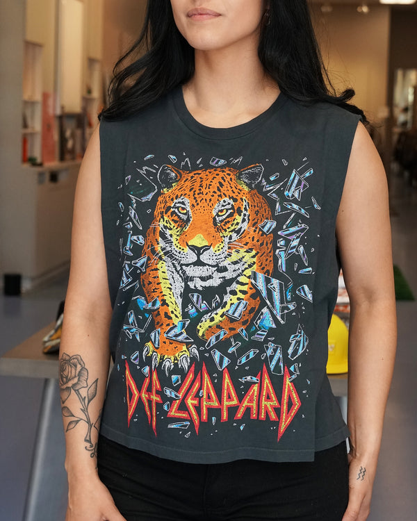 Def Leppard All Time High Muscle Tee