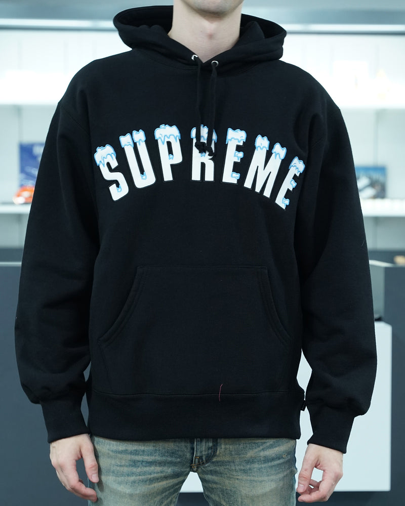 Icy Arc Hooded Sweatshirt