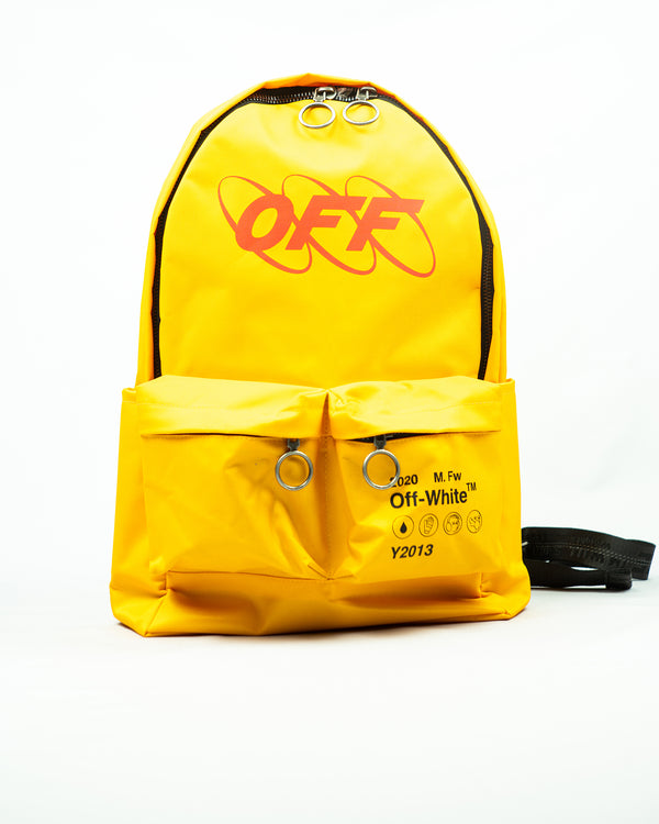 Industrial logo backpack