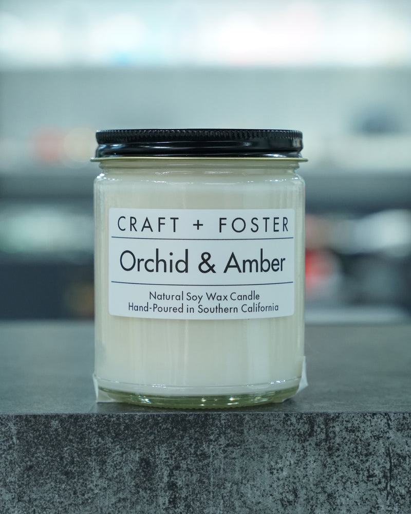 Orchid & Amber Candle