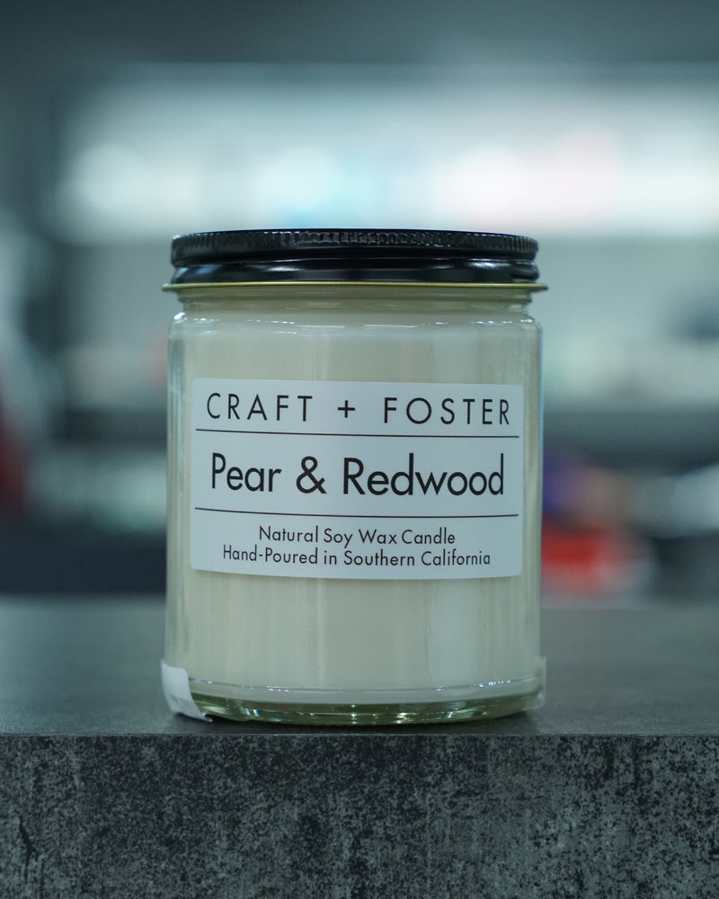 Pear & Redwood Candle