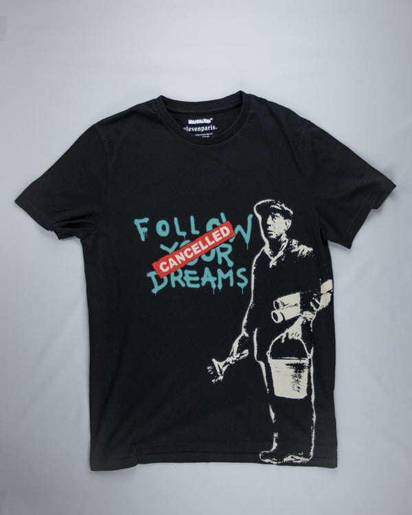 Eleven Paris Banksy Follow T-Shirt