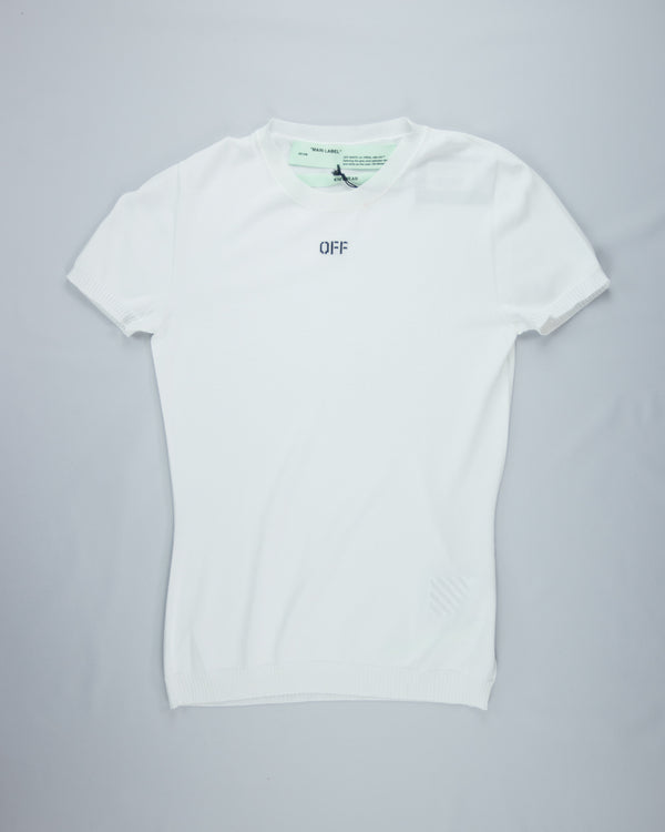 Logo Knit T-Shirt