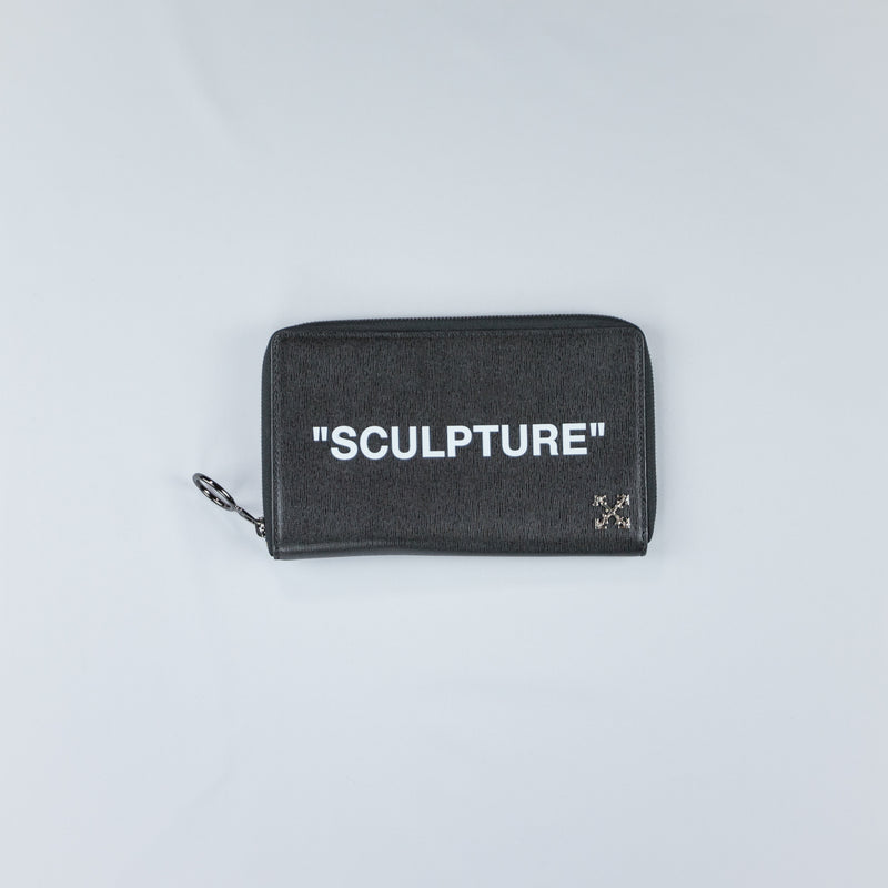 """Sculpture"" print wallet"
