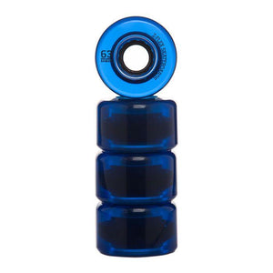 Z-FLEXu30b9u30b1u30fcu30c8u30dcu30fcu30c9u3000Z-Smooth V2 Wheels BLUE/TRANS  63mm 83A-Z-FLEX SKATEBOARDS JAPAN OFFICIALu3010u516cu5f0fu901au8ca9u3011