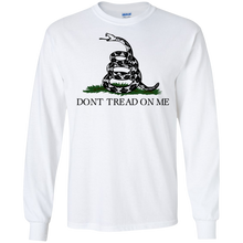 Load image into Gallery viewer, Don't Tread On Me Long Sleeve Tee
