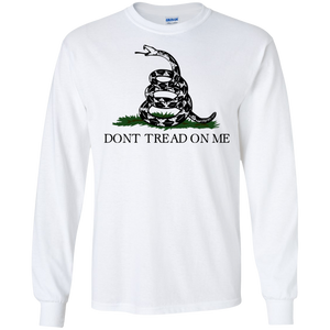 Don't Tread On Me Long Sleeve Tee