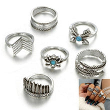 Load image into Gallery viewer, 23 Types Vintage Knuckle Rings for Women - Junitas Online Store