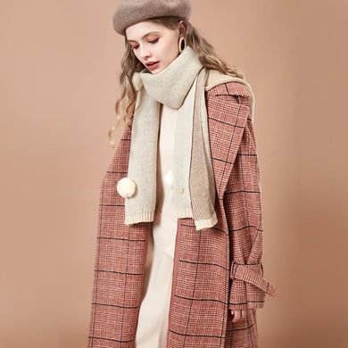 Autumn and Winter Women Woolen Coat - Junitas Online Store