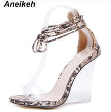 Load image into Gallery viewer, Fashion Women Shoes Peep Toe PVC - Junitas Online Store