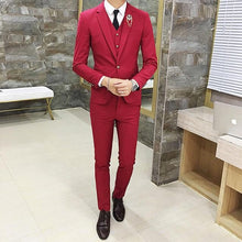 Load image into Gallery viewer, Men Suits Designers 3 Piece Jacket Pants Vest - Junitas Online Store