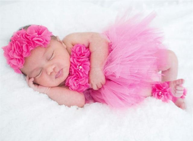 Cute Baby Tutu Newborn Birthday Party Dress - Junitas Online Store