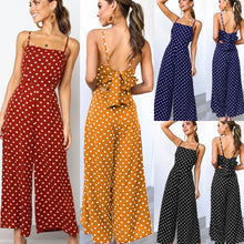 Load image into Gallery viewer, Jumpsuits  Sleeveless Loose Trousers