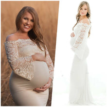 Load image into Gallery viewer, Two-piece Maternity Maxi Dress - Junitas Online Store