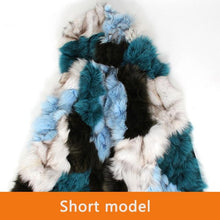 Load image into Gallery viewer, High Quality Women's Real fox fur hooded Liner