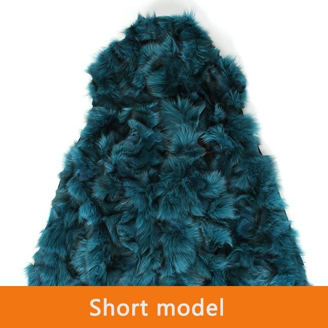 High Quality Women's Real fox fur hooded Liner