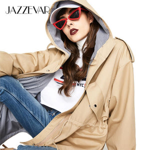 Short Cotton Oversized Hooded Jacket, Good Quality - Junitas Online Store