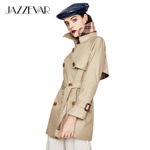 Load image into Gallery viewer, Waterproof Cotton Short Trench Coat - Junitas Online Store