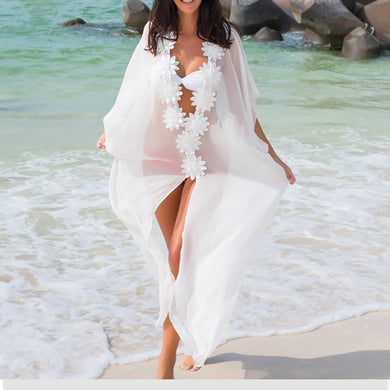 Chiffon Cover Up Beach Dress