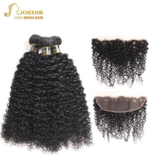 Load image into Gallery viewer, Mongolian Curly Hair Bundles With Closure - Junitas Online Store