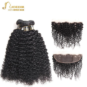 Mongolian Curly Hair Bundles With Closure - Junitas Online Store