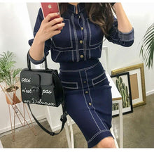 Load image into Gallery viewer, Ladies Casual Knitted Fashion Suit - Junitas Online Store