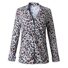 Load image into Gallery viewer, Leopard Print Blouse Shirt Women - Junitas Online Store
