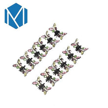 Load image into Gallery viewer, M MISM 1Set=12PCS Girls Princess Rhinestone Mini Hair Claws Barrettes Beautiful Cute Sweet Animal Hair Clips Clamps Accessories - Junitas Online Store