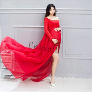 Maternity Chiffon Gown - Junitas Online Store
