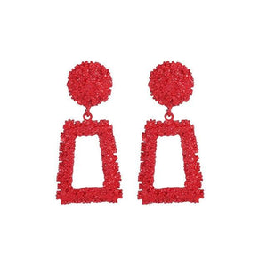 Geometric Trapezoidal Earrings - Junitas Online Store