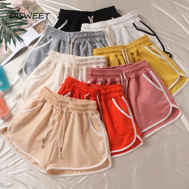 Plus Size High Waist elastic Shorts - Junitas Online Store