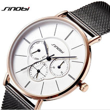 Load image into Gallery viewer, Luxury Gold Watch Women