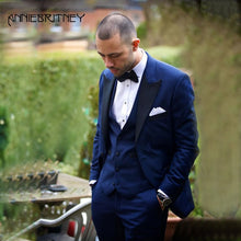 Load image into Gallery viewer, Men's Classic Suits 3 Piece - Junitas Online Store