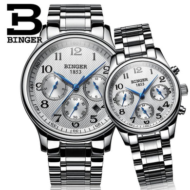 BINGER Men's and Women's Quartz - Junitas Online Store
