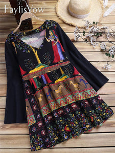 Patchwork Clothes Plus Size