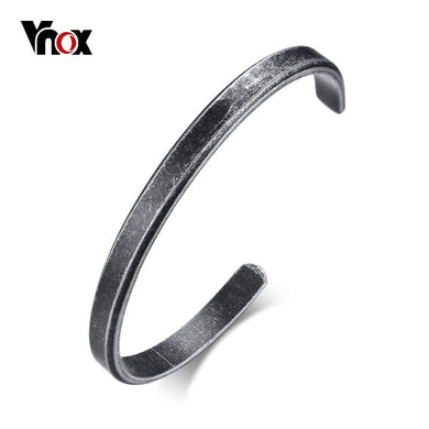Classic Simple 6mm Bangle for Men