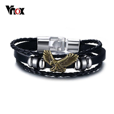 Eagle Flying Men Bracelet