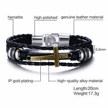Load image into Gallery viewer, Cross Bracelets & Bangles For Women MeN - Junitas Online Store