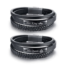 Load image into Gallery viewer, His Queen and Her King Couple Bracelet - Junitas Online Store