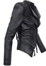 Load image into Gallery viewer, Motorcycle Jacket faux leather - Junitas Online Store