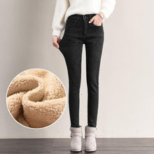 Load image into Gallery viewer, Winter Jeans Female High Waist - Junitas Online Store