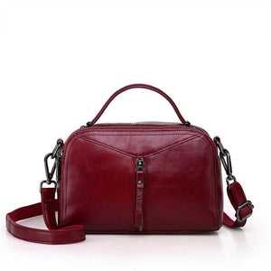 Soft Genuine Leather Messenger Bags - Junitas Online Store