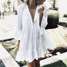 Load image into Gallery viewer, Cotton Pareo Beach Cover Up - Junitas Online Store