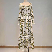 Load image into Gallery viewer, Bohemian Print Dress For Women - Junitas Online Store