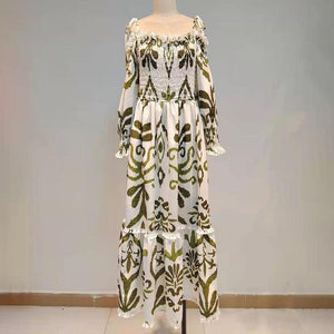 Bohemian Print Dress For Women - Junitas Online Store