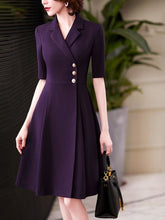 Load image into Gallery viewer, Classy Elegant A line Work Dress - Junitas Online Store