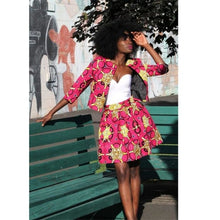 Load image into Gallery viewer, Coat Tutu Skirts Ankara Style - Junitas Online Store