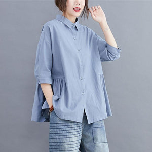 Cotton Linen Casual Shirts - Junitas Online Store