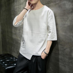 Cotton Linen T Shirt Men's - Junitas Online Store