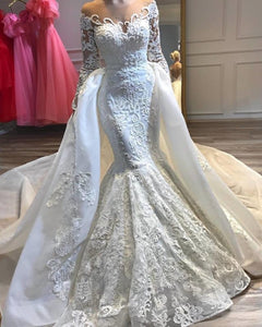 Dubai Arabic Mermaid Wedding Dresses - Junitas Online Store